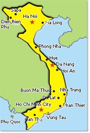 vietnam cuisine map